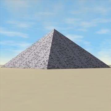 piramīda. 3d modelis 3ds max c4d ma mb 3dm pz3 pp2 citi 94897