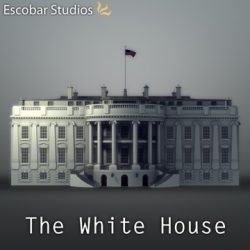 The White House ( 68.89KB jpg by Escobar_Studios )