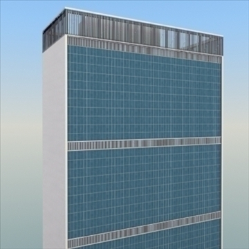 united nations building nyc 3d model 3ds max fbx lwo ma mb hrc xsi texture obj 100466