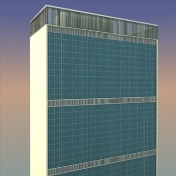 united nations building nyc 3d model 3ds max fbx lwo ma mb hrc xsi texture obj 100469