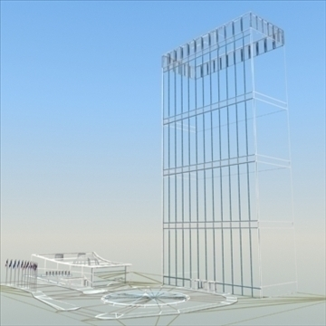 united nations building nyc 3d model 3ds max fbx lwo ma mb hrc xsi texture obj 100471