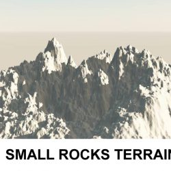 3d Terrain Small Rocks ( 184.45KB jpg by rmodeler )
