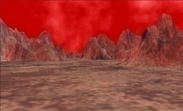 alien landscape terrain 3d model max fbx x ma mb obj 106240
