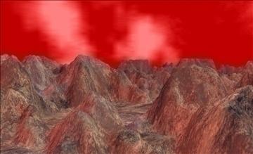 alien landscape terrain 3d model max fbx x ma mb obj 106242