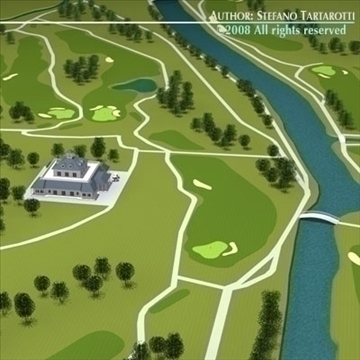 golfclub 3d model 3ds dxf c4d obj 88818