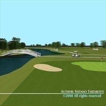 golfclub múnla 3d 3ds dxf c4d obj 88822