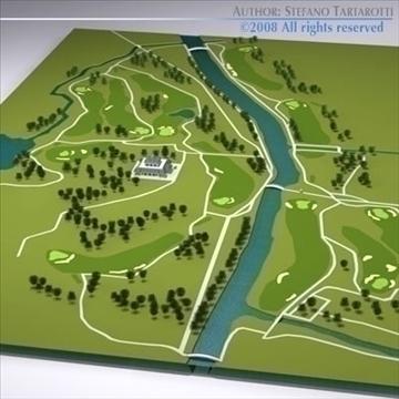golfclub múnla 3d 3ds dxf c4d obj 88823