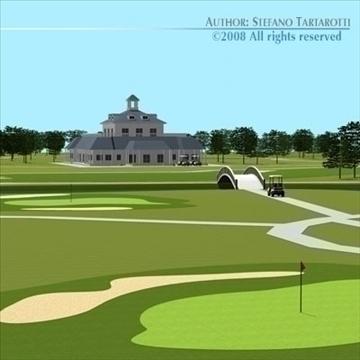 golfclub múnla 3d 3ds dxf c4d obj 88824