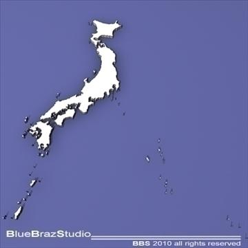 japan 3d model 3ds dxf c4d obj 102561