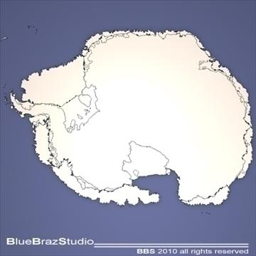 south pole 3d model 3ds dxf c4d obj 102584