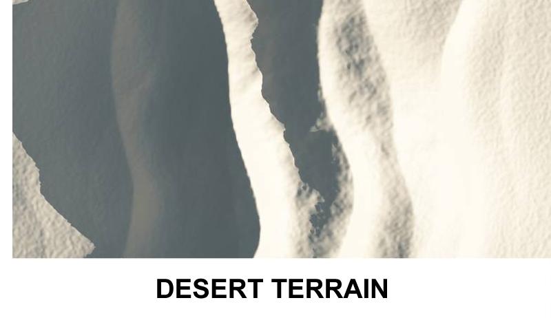 terrain desert 3d model 3ds c4d lwo obj 121081