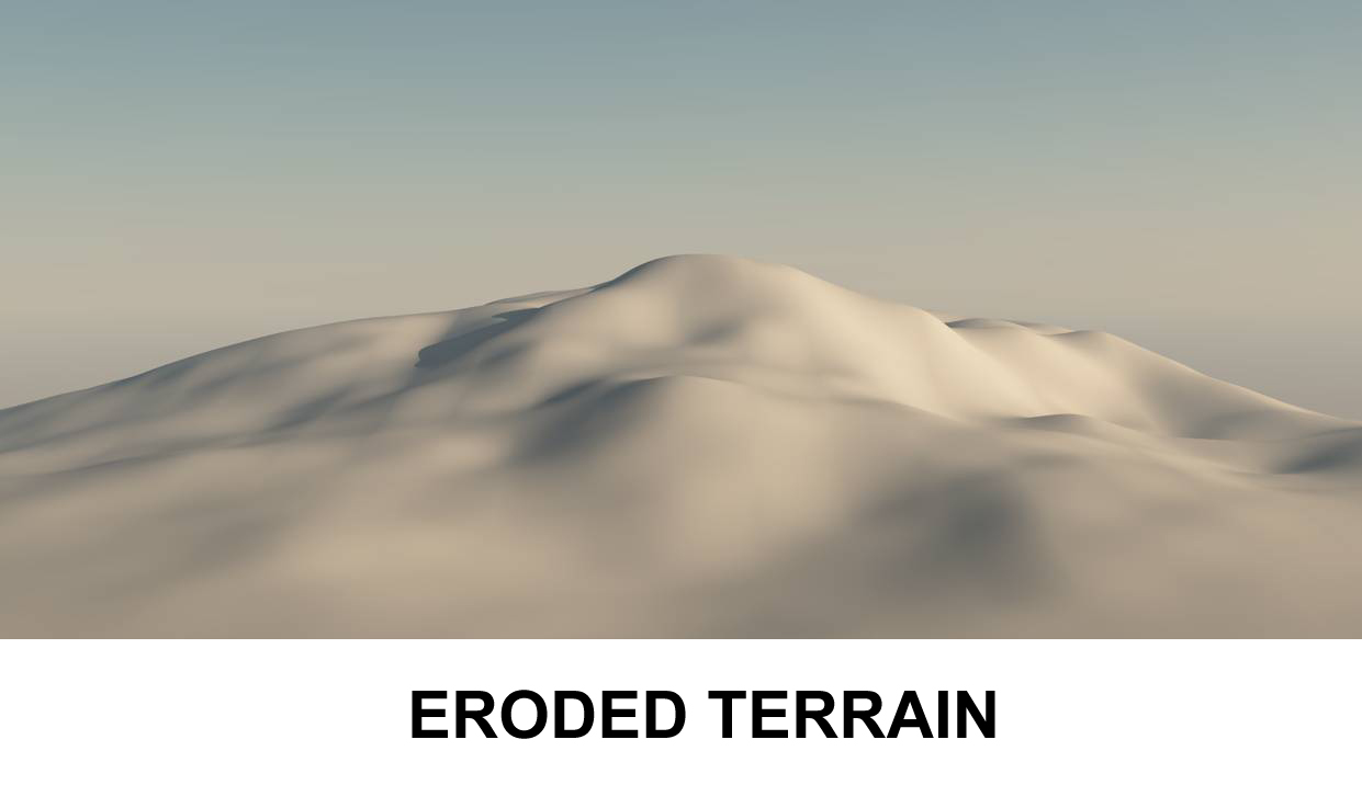 terrain eroded 3d model 3ds c4d lwo obj 118381