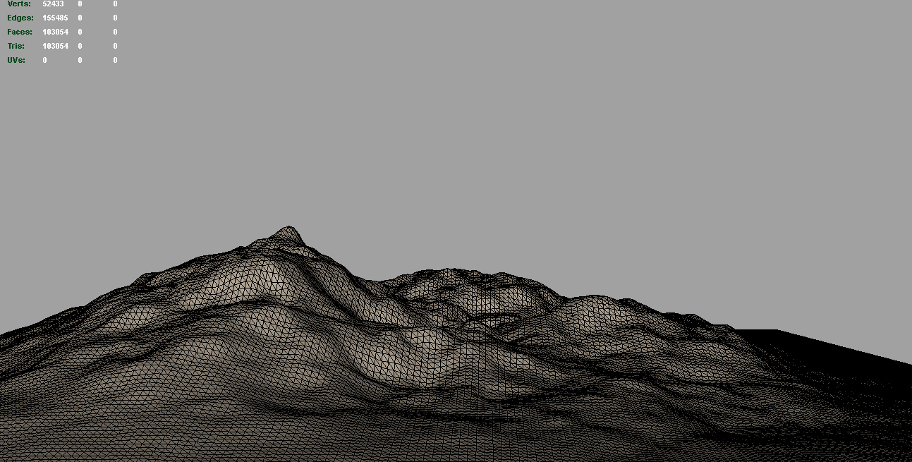 terrain mounds 3d model 3ds c4d lwo obj 118389