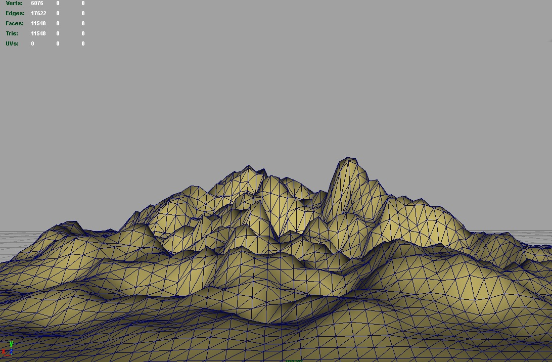 terrain small rocks 3d model 3ds c4d lwo obj 121310