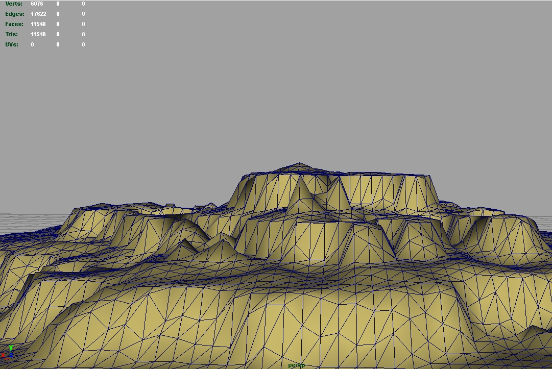 terrain stone canyon 3d model 3ds c4d lwo obj 121425