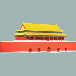 The Tiananmen Gate ( 77.66KB jpg by caworks )