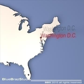 washington dc 3d загвар 3ds dxf c4d obj 102596