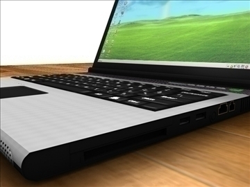 Acer aspire notebook 3d modelis 3ds c4d tekstūra 109107