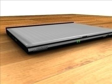 Acer aspire notebook 3d modelis 3ds c4d tekstūra 109108