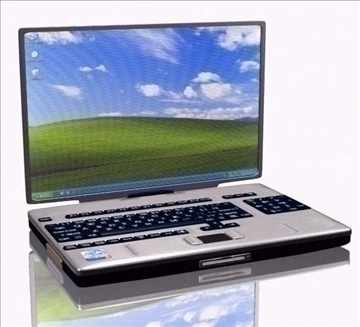 laptop 3d modell max 109890