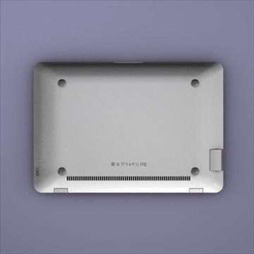 laptop apple macbook air 3d model 3ds dxf fbx c4d x obj 87790