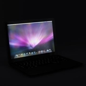 laptop apple macbook air 3d model 3ds dxf fbx c4d x obj 87795