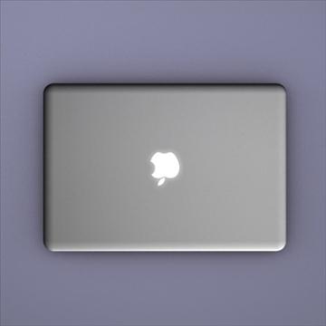 laptop apple macbook air 3d model 3ds dxf fbx c4d x obj 87796