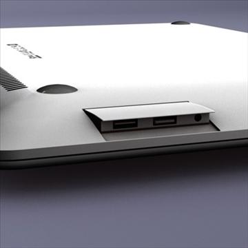laptop apple macbook air 3d model 3ds dxf fbx c4d x obj 87798