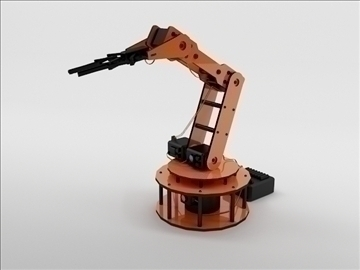 armbot 3d model 3ds max c4d obj 104680