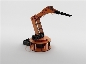 model armbot 3d 3ds max c4d obj 104682
