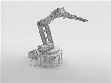 model armbot 3d 3ds max c4d obj 104683