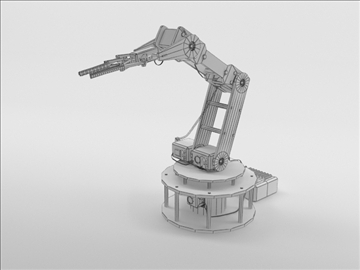 model armbot 3d 3ds max c4d obj 104684