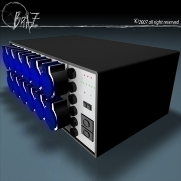 dimmer 3d model 3ds dxf c4d obj 109192