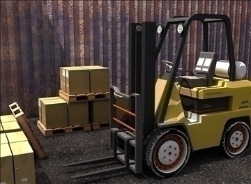 forklift (ids re-style) 3d model max 94095
