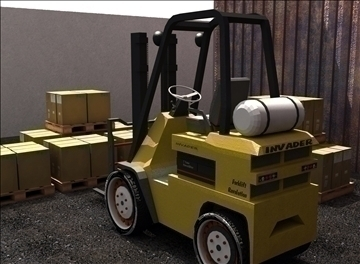 forklift (ids re-style) 3d model max 94096