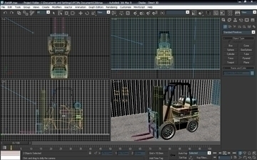 forklift (ids re-style) 3d model max 94097