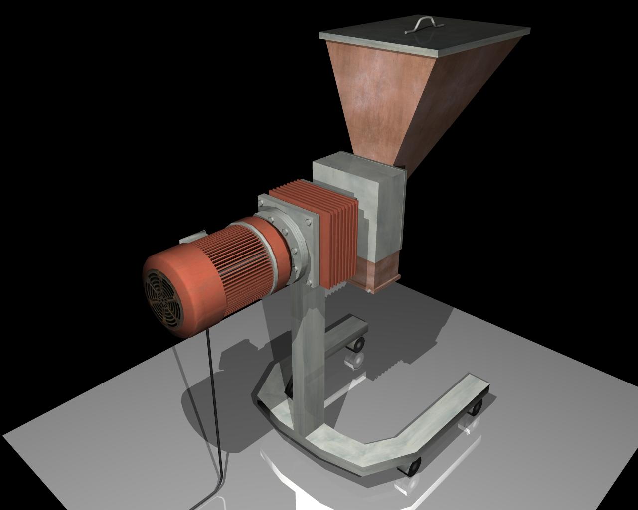 grind machine 3d model 3ds 164262