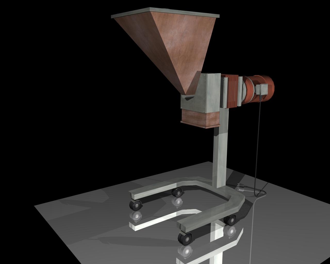 grind machine 3d model 3ds 164264