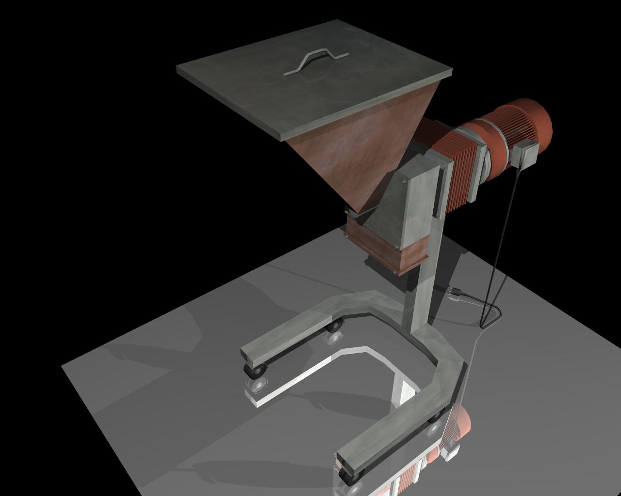 grind machine 3d model 3ds 164265
