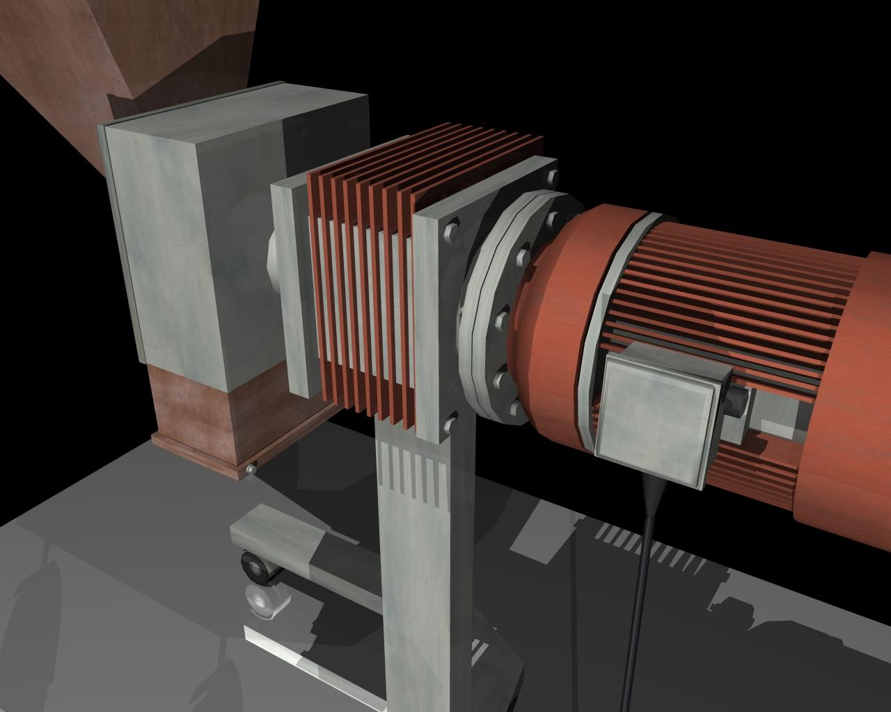 grind machine 3d model 3ds 164266