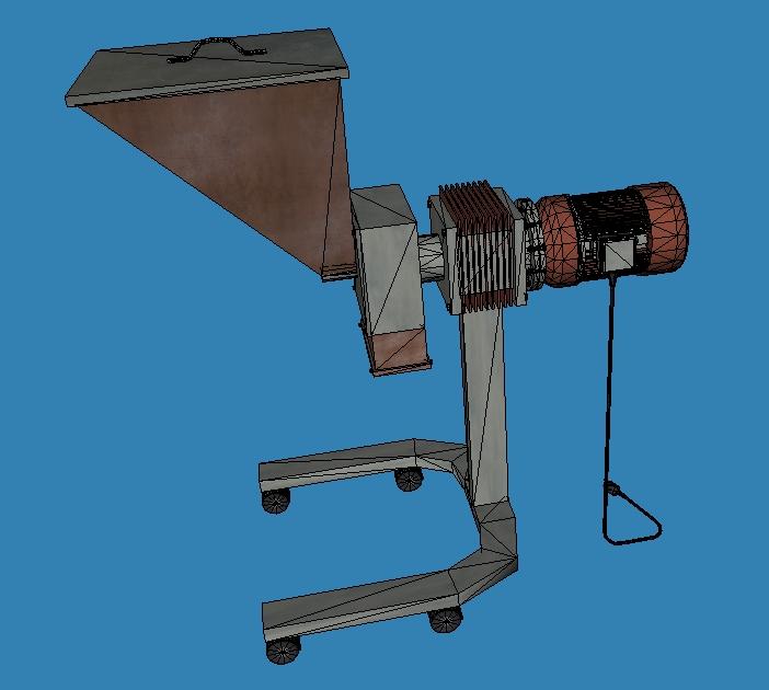 grind machine 3d model 3ds 164268