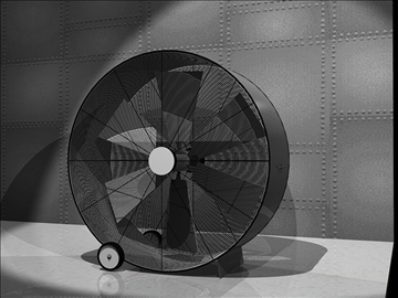 industrial blowerfan 3d model dxf 94320