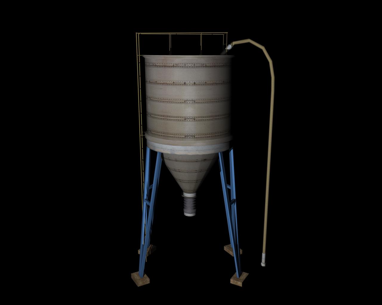 silo 3d model 3ds 164143