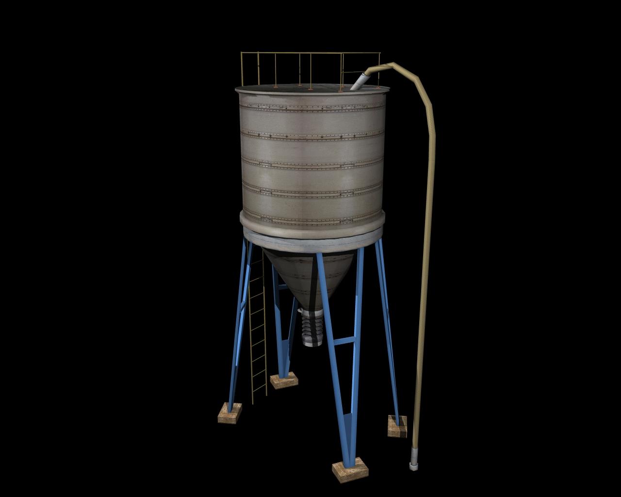 silo 3d model 3ds 164144