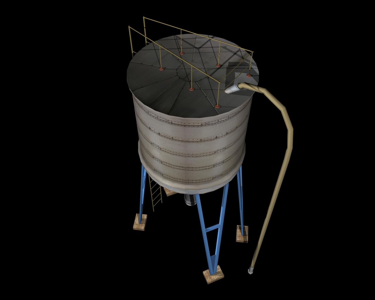 silo 3d model 3ds 164145