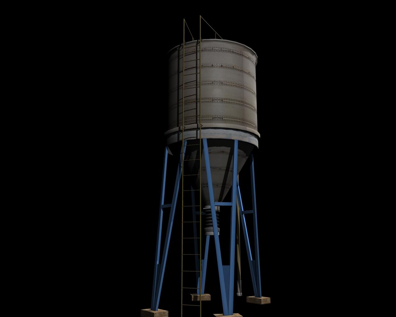silo 3d model 3ds 164146