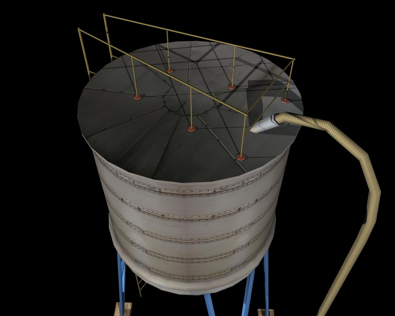 silo 3d model 3ds 164147