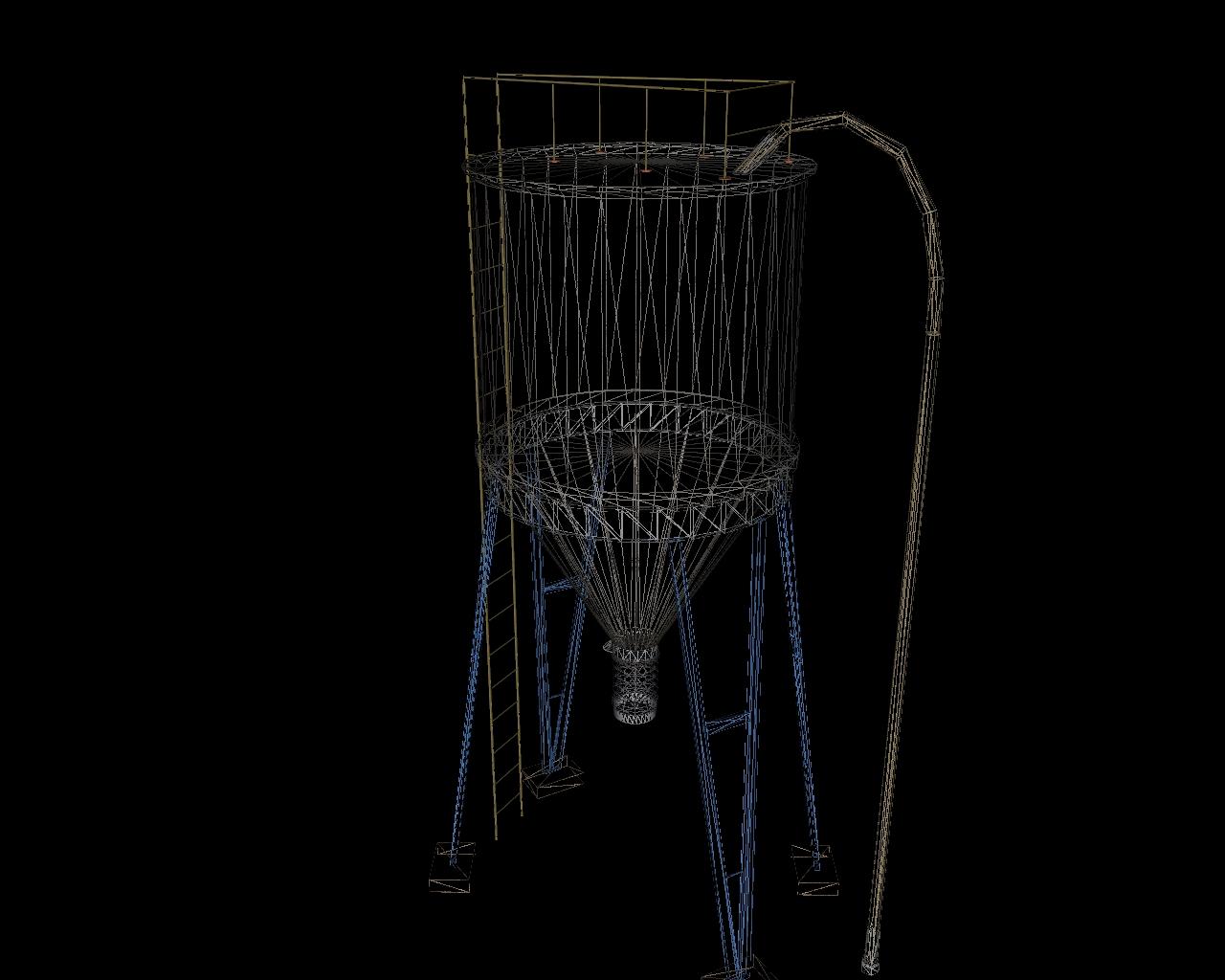 silo 3d model 3ds 164148