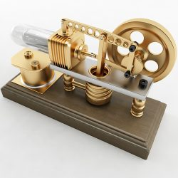 Stirling Engine ( 279.12KB jpg by Plutonius )