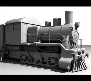 поїзд 3d модель lwo obj 97605